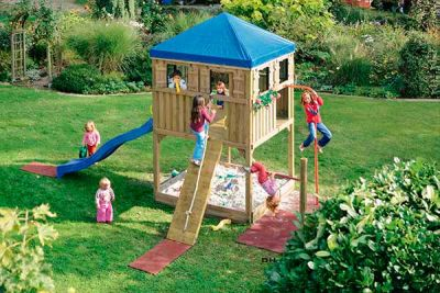 spielturm und kletterum kindertr ume f r den garten spielplatz kaufen. Black Bedroom Furniture Sets. Home Design Ideas